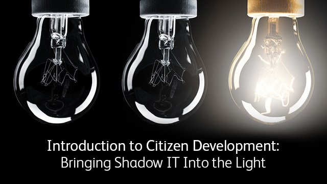 Intro Citizen Development Image